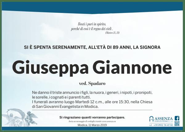 Giuseppa Giannone