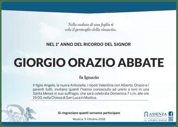 Giorgio Orazio Abbate