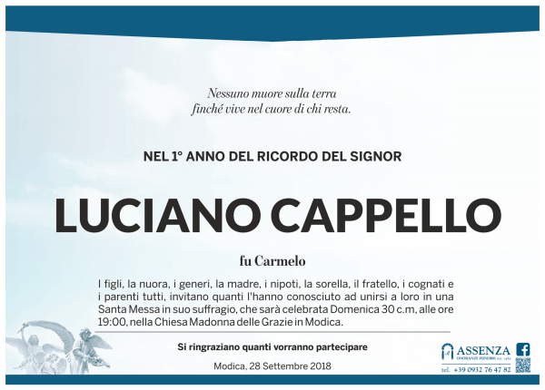 Luciano Cappello