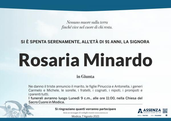 Rosaria Minardo