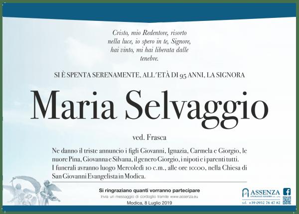 Maria Selvaggio
